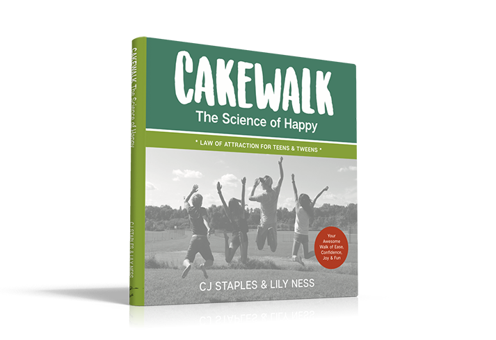 Cakewalk, The Science of Happy book by Lily Ness & Cj Staples